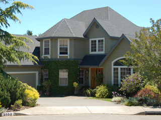 Exterior painting project - Fountain Grove